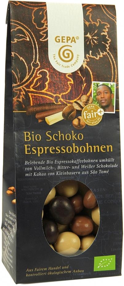 Bio Schoko Espressobohnen Image