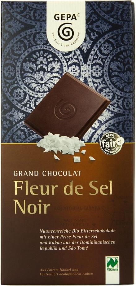Grand Chocolat Fleur de Sel Noir Image