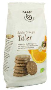 Schoko Orangen Taler Image